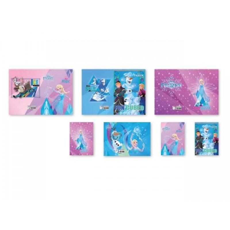 Тетрадка А4, мат/UV 40 л., Frozen