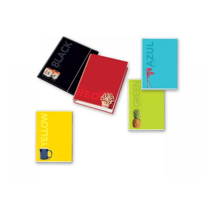Кутия с ластик Imperdibili Color, 260х350х10 мм