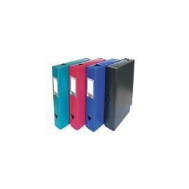 Кутия архивна с копче, 245х330х60, PP, 800 µ