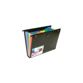 Папка с 6 разд. и ластик за картотека, Rainbow Class, РР