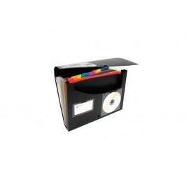 Папка с 12 разд. и отделение за док., с копче, Rainbow Class, РР