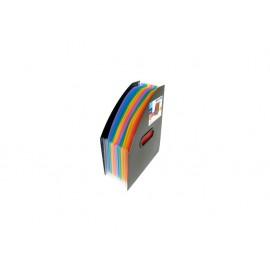 Органайзер вертикален за док. с 12 разд., Rainbow Class, РР