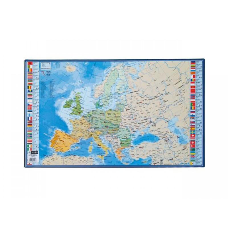 Подложка за бюро 595x365 мм, Европа, PVC