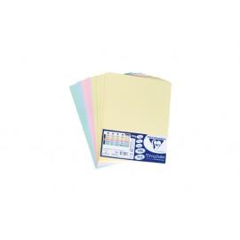 Картон копирен цветен А4, 5х10 листа mix