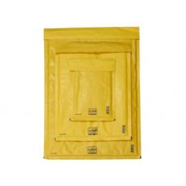 Плик Sacboll кафяв с лента и въздушни мехури