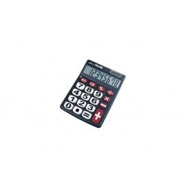 Калкулатор, 8 разр., 142x105x24 мм, големи бутони, черен