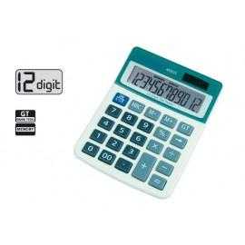 Калкулатор 12 разр., 130x101x26, сив