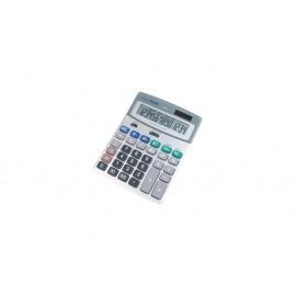 Калкулатор, 14 разр., 185x141x42 мм, сив, мет.панел