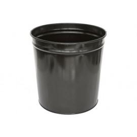 Кошче метално, плътно, 10 л., черно, ESTON