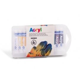 Акрилни бои 12 цв.х 7.5 мл, в алумин.тубичка, PPL кутия