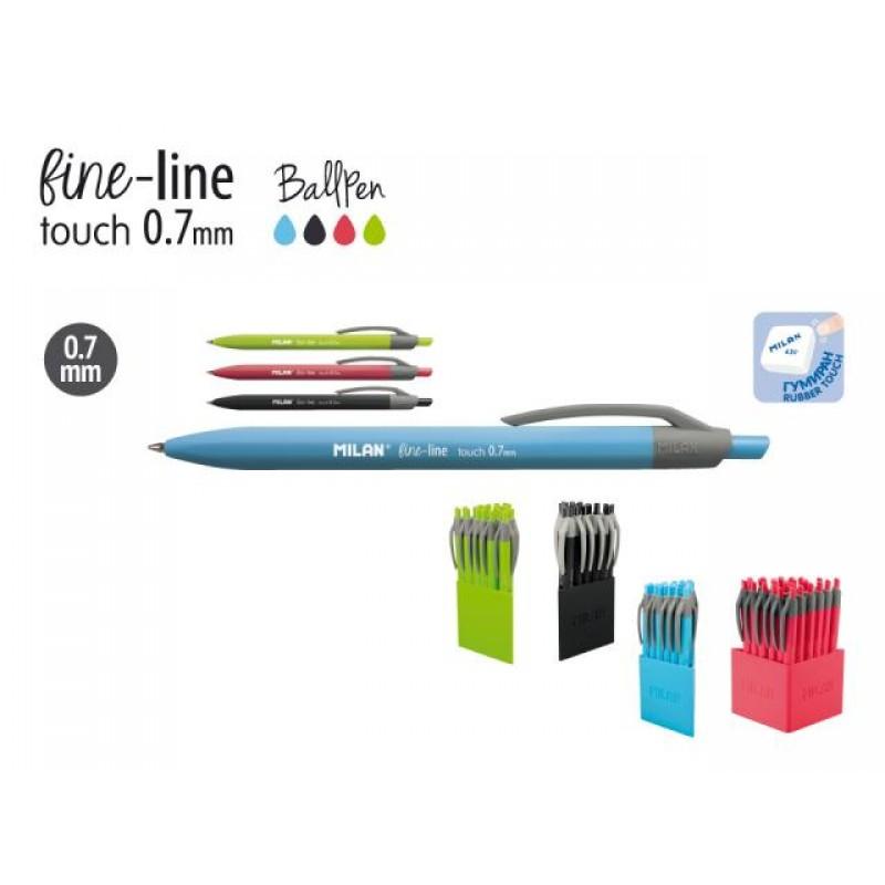 Химикалка авт., Fine-line Touch 0.7 мм