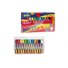 Пастел маслен, 12 цвята