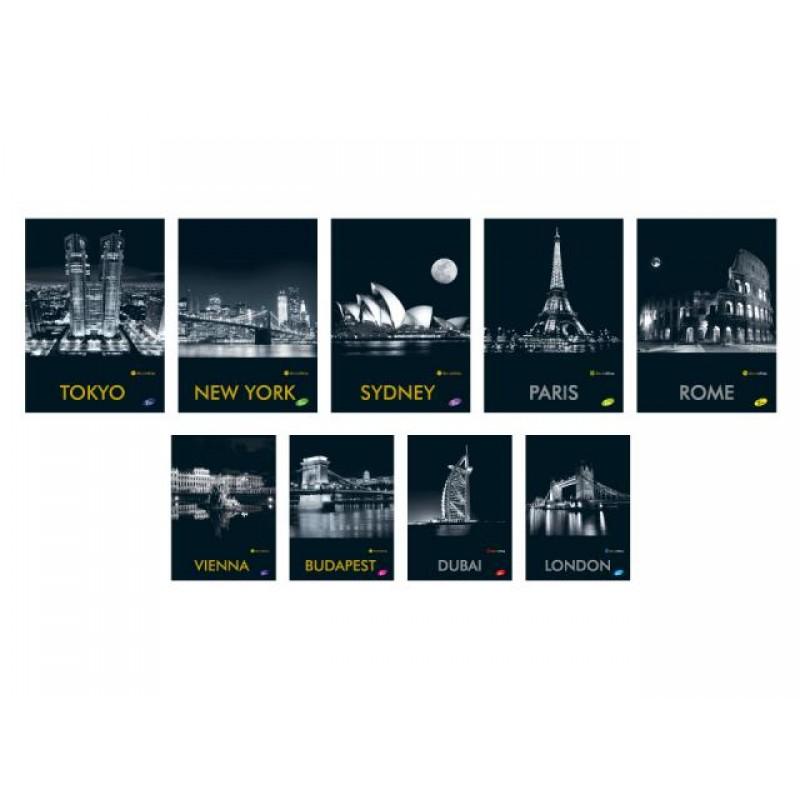 Тетрадка Cities by night