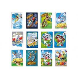 Тетрадка A5 2xUV Looney Tunes, 24 л., 70 г/м2