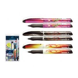 Ролер Glam+изтриващ маркер+6 бр.патр., блистер