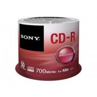CD-R 80min/700MB 48x, 50 бр., шпиндел