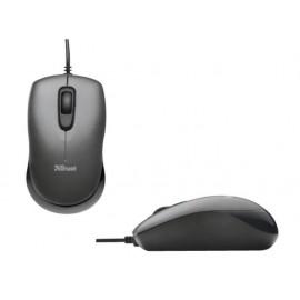 Мишка оптична, мини, с кабел, USB, скрол