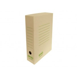 Кутия архивна кафява, микровелпапе 2 мм