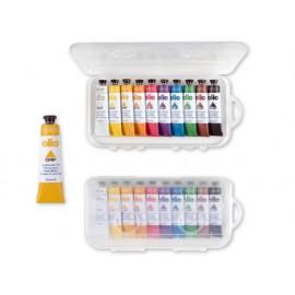 Маслени бои 10 цв.х 18 мл, в алумин.тубички, PPL кутия