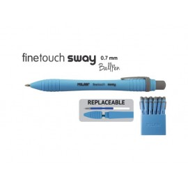 Химикалка авт., Sway Fine 0.7 мм, синя