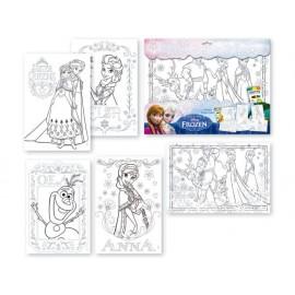Книжка за оцветяване Frozen