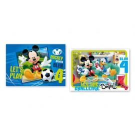 Блок No: 4 Mickey