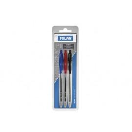 Химикалка автоматична P1, 1.0 мм, блистер