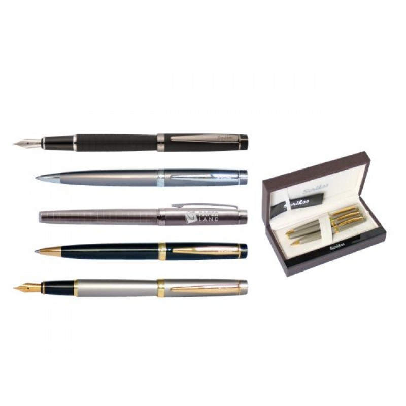 Комплект писалка, химикалка и автоматичен молив 38 Honour