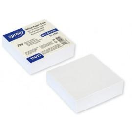 Кубче бяла хартия, 84х84 мм, 250 листа