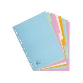 Разделител 10 цвята, еко картон Forever, А4