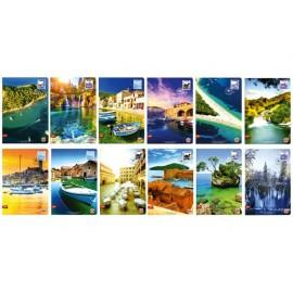 Тетрадка А4 Postcard, 40 л.ред, 70 г/м2