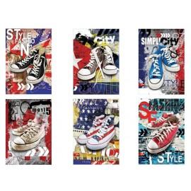 Тетрадка А4 Sneakers, 80 г/м2