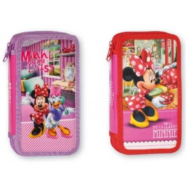 Несесер зареден двоен Disney Minnie, 21х12х4.5