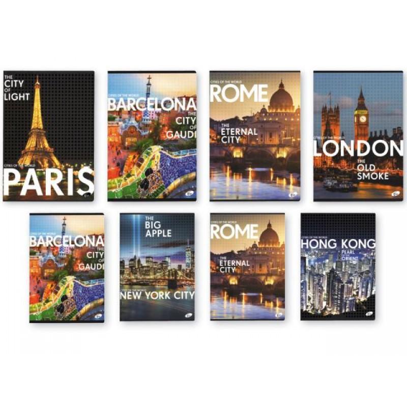 Тетрадка Cities by day