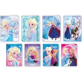 Тетрадка глитери/мат, Frozen, 40+2 л.ред, 80 г/м2