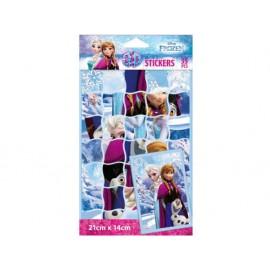 Стикери Frozen пъзел, 35 бр.