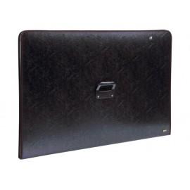 Чанта за чертежи с цип, 750x1050, черна