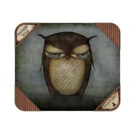 Подложка за мишка Grumpy Owl, 25х21 см