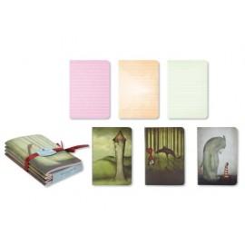 Дневници комплект 4 броя, 9х13 см, 96 л. Once Upon a Time