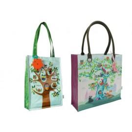 Чанта пазарска с покритие, 26х35х10 см