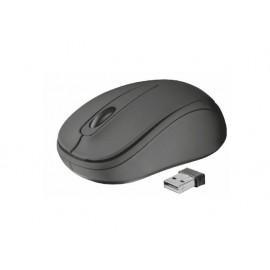 Мишка оптична, безжична, черна, USB, скрол, Ziva Compact