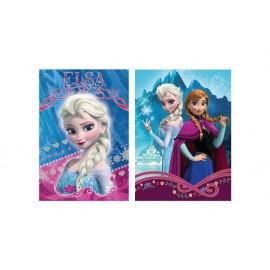 Тетрадка Frozen шита 40 л. 17х24 см