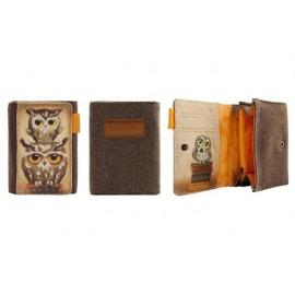 Портмоне Book Owls, 9х12х3 см