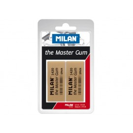 Гума за въглен Master Gum, 2 бр., блистер