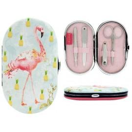 Комплект за маникюр Flamingos, 12х7х2 см