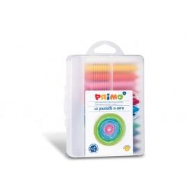Пастел восъчен, Jumbo, 12 цвята, PPL кутия