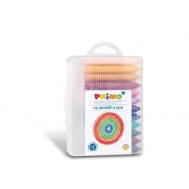 Пастел восъчен, Jumbo, 24 цвята, PPL кутия