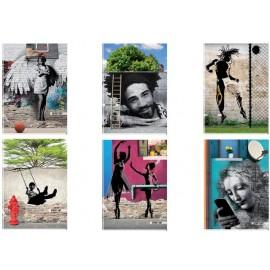 Тетрадка А4 UV Street Art, 42 л.ред, 80 г/м2