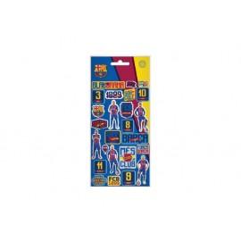 Стикери Barcelona, 10x22 см