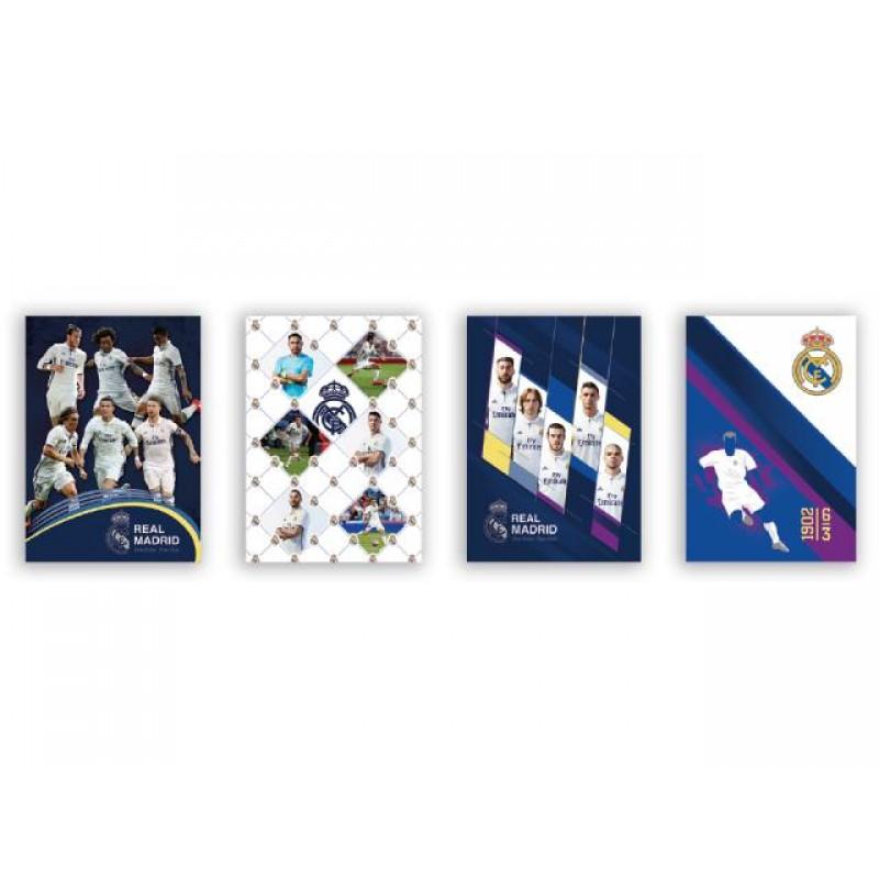 Тетрадка А4 Real Madrid, ред